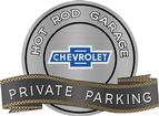 "18"" X 14"" Hot Rod Garage Vintage Bow Tie Private Parking Metal Sign"