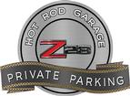 "18"" X 14"" Hot Rod Garage 70-74 Z28 Private Parking Metal Sign"