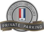 "18"" X 14"" Hot Rod Garage 82-95 Camaro Private Parking Metal Sign"