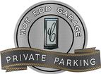 "18"" X 14"" Hot Rod Garage 70 Camaro Private Parking Metal Sign"