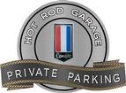 "18"" X 14"" Hot Rod Garage 74 Camaro Private Parking Metal Sign"
