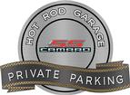 "18"" X 14"" Hot Rod Garage Gen5 SS Private Parking Metal Sign"