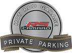 "18"" X 14"" Hot Rod Garage Gen5 RS Private Parking Metal Sign"