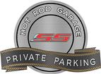 "18"" X 14"" Hot Rod Garage 2010 SS Private Parking Metal Sign"