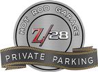 "18"" X 14"" Hot Rod Garage 69 Camaro Z/28 Private Parking Metal Sign"