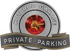 "18"" X 14"" Hot Rod Garage Pontiac Chief 2 Private Parking Metal Sign"
