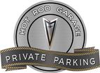 Metal Sign - Private Parking - Pontiac Tempest