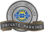 "18"" x 14"" Hot Rod Garage Chevrolet Super Service Private Parking Metal Sign"