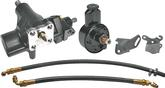 1958-64 Impala / Full Size 409 With Short Water Pump 500 Series Power Steering Conversion Set