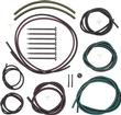 1968 Camaro Rally Sport Headlight Hose Set with Color Hoses