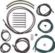 1969 Camaro Rally Sport Headlight Hose Set ; with Color Hoses