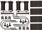 1967-74 Multi-Leaf Rear Leaf Spring Installation Kit - w/o Sway Bar - Various Models