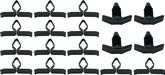 1970-81 Camaro 18 Piece Hood To Cowl Seal Clip Set