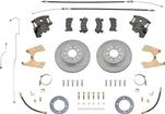1958-64 Impala / Full Size Stock Rear End Disc Brake Conversion Set