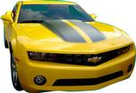2010-13 Rally Stripe Set - Convertible Gloss Black