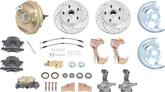 1967-69 F-Body; 1968-74 Nova Performance Front Power Disc Brake Conversion Set with Stock Spindels