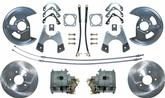 "1968-69 F-Body; 1968-74 Nova Rear Disc Brakes Set with 11"" Plain Rotors and Parking Brake"