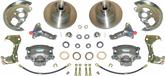 "1967-74 Basic Front Disc Brake ConversionSet with Standard Spindles and 11"" Plain Rotors"