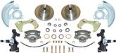 "1967-74 Basic Front Disc Brake ConversionSet with 2"" Drop Spindles and 11"" Plain Rotors"
