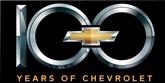 24 X 12 100 YEARS OF CHEVROLET METAL SIGN