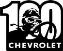 "16"" x 14"" Vintage Chevrolet Anniversary Metal Sign"