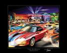 Thom Sansoucie Color 11 X 14 Print - Lights, Camaro, Action  Print