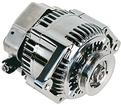 120 Amp 1 Wire Mini Alternator (Chrome Finish)