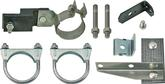 1956 CHEVROLET 6 CYLINDER EXHAUST CLAMP AND HANGER SET