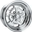 "15"" x 6"" American Racing 2 Piece Salt Flat Special Polished Alloy Wheel"