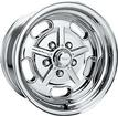 "15"" x 7"" American Racing 2 Piece Salt Flat Special Polished Alloy Wheel with 5 x 4-3/4"" Bolt Pattern"