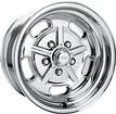 "15"" x 7"" American Racing 2 Piece Salt Flat Special Polished Alloy Wheel with 5 x 5"" Bolt Pattern"