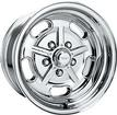 "15"" x 8"" American Racing 2 Piece Salt Flat Special Polished Alloy Wheel with 5 x 5"" Bolt Pattern"