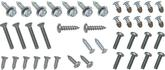 1962 CHEVY II  / NOVA EXTERIOR SCREW KIT 41 PCS