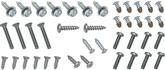 1965 CHEVY II / NOVA EXTERIOR SCREW KIT 41 PCS