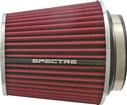"6.7"" Tall HPR® Cone Air Filter for 3"", 3-1/2"" and 4"" Tubes - Red/Chrome"