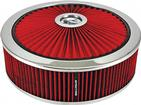 "14"" x 4"" Extraflow Air Cleaner with Red HPR® Filter"