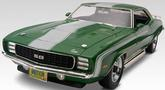 1-25 Scale 1969 Camaro SS 427 Baldwin Motion Plastic Model Kit - Revell Monogram