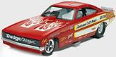 1-25 Scale Chi-Town Hustler Funny Car Plastic Model Kit - Revell Monogram
