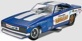 1-25 Scale Hawaiian Charger Funny Car Plastic Model Kit - Revell Monogram