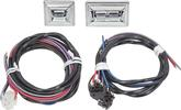 Power Window 2 Switch And Harness Set