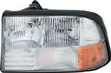 98-01 HEADLAMP WITHOUT FOG LH