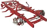 1947-55 GM Truck Big Block TCI Stage III Stock Width Frame Show-Quality Chassis with Coil-Overs