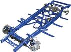 1947-53 GM Truck Small Block TCI Chassis Stage II Narrowed Pro-Street Frame with Coil-Overs