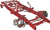 1955-59 GM Truck Small Block TCI Stage II Stock Width Frame Performance Chassis with Coil-Overs