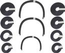 1955-57 Chevrolet Sedan Delivery Headliner Tack Strip Set
