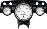 1957 CHEVROLET FULL-SIZE PASS CARS - CLASSIC INSTRUMENTS 3-GAUGE INSERT  KIT -  5 & 2-1/8 GAUGES