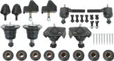 1955-57 Chevrolet Basic Polyplus Front End Rebuilt Set