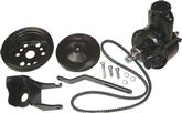 1955-57 CHEVROLET SMALL BLOCK POWER STEERING PUMP SET