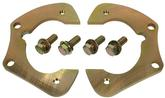 "1955-57 Full Size Disc Brake Brackets - 2"" Modular Spindles"