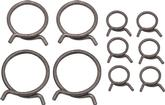 1957 Chevrolet With Deluxe Heater  Radiator And Heater Hose Clamp Set